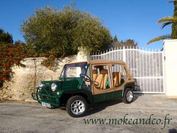 mini moke cagiva belize green mokeandco. Black Bedroom Furniture Sets. Home Design Ideas